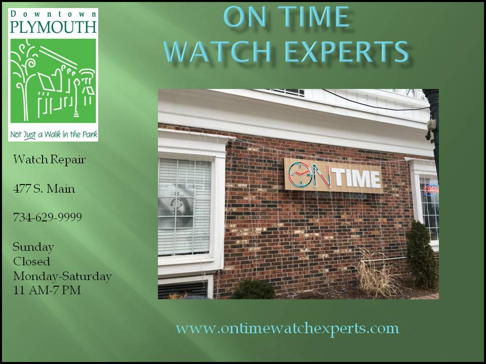 On Time Watch Experts web 2