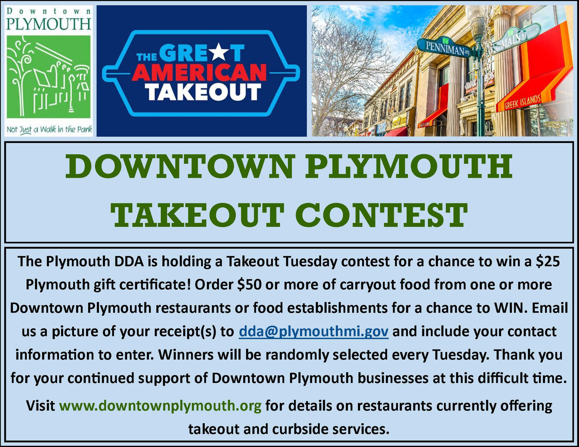 takeout tuesday contest info