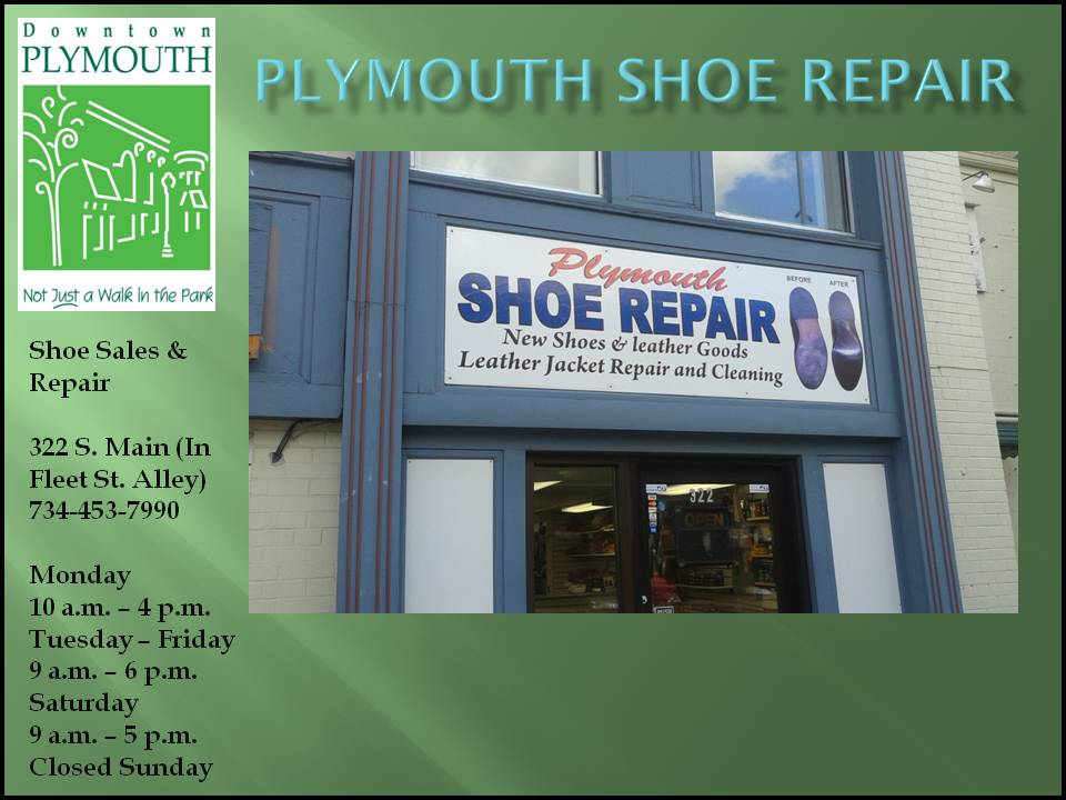 Plymouth Shoe Repair web