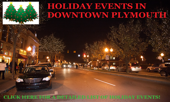 holiday events in dtp