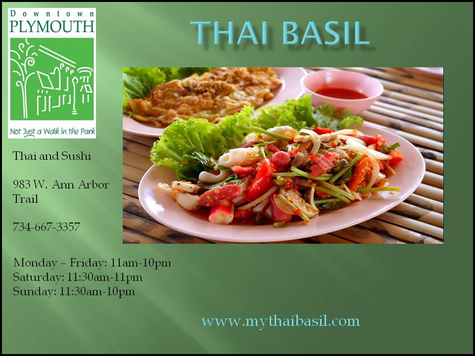 Business Page Template PPT Restaurants Thai