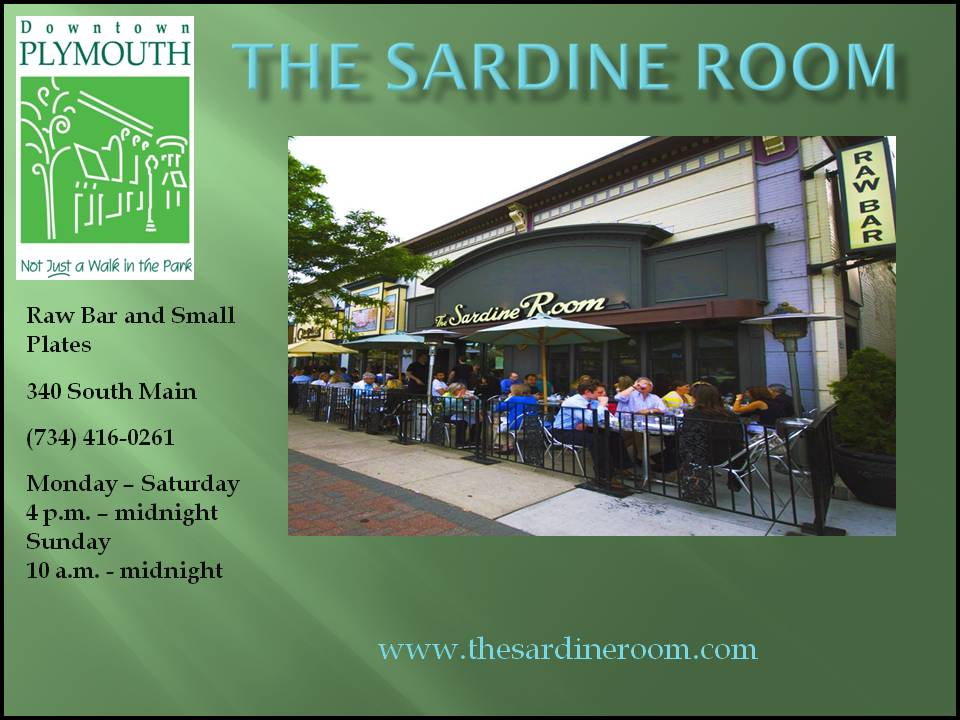 The Sardine Room web