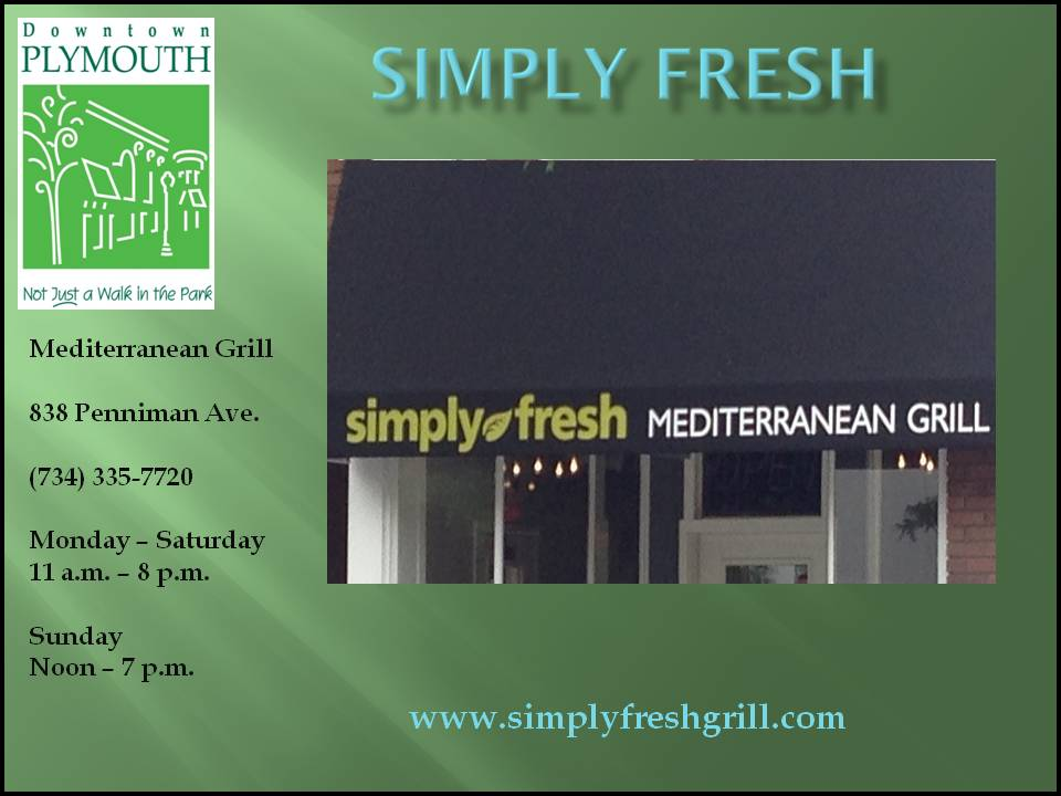 Simply Fresh web