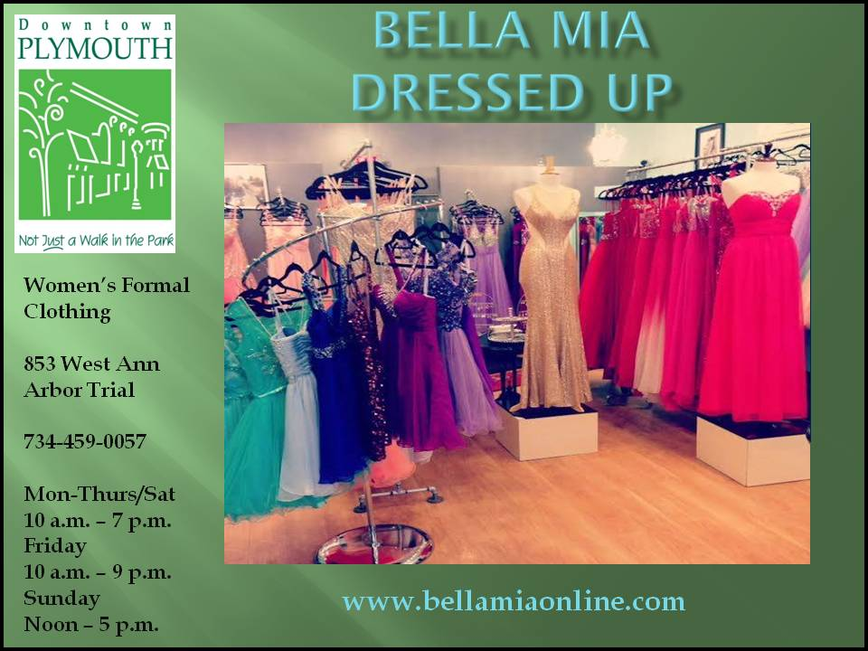 Bella Mia Dressed Up web